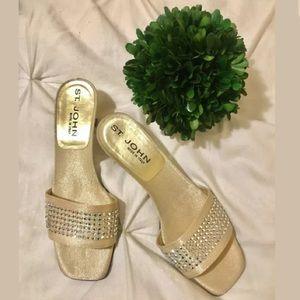 St. John Vintage Heels